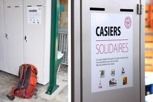 12 premiers casiers solidaires à Liège