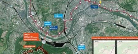 La Ville de Liège étudie la perspective d'un transport par câble vers la Citadelle et le Sart-Tilman !