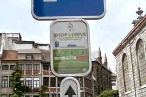 Shop&Drive, nouvelle offre de stationnement gratuit à Liège !