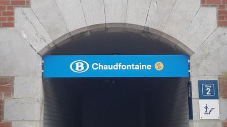 Réouverture de la gare de Chaudfontaine